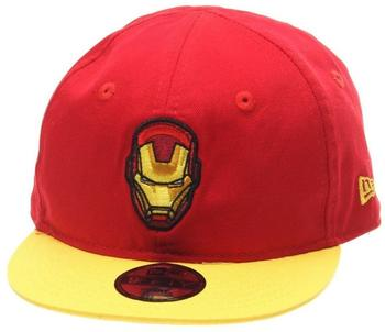 NEW ERA 9Fifty Snapback Baby Infant Cap - Iron Man rot
