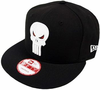 NEW ERA The Punisher Black Marvel Comics Snapback Cap 9fifty Limited Edition