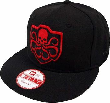 NEW ERA Era Hydra Black Hail Hydra Snapback Cap 9fifty Limited Edition