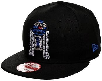 NEW ERA Snapback Caps Star Wars R2D2 schwarz, Grösse S/M