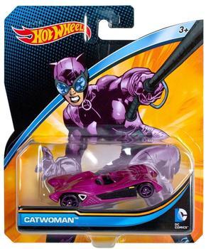 Mattel Hot Wheels Batman vs. Superman Fahrzeug Catwoman