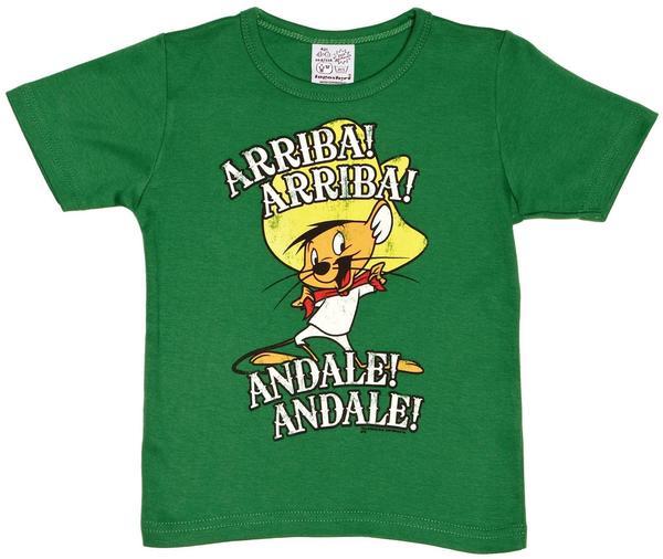 Logoshirt T-shirt Speedy Gonzales - Looney Tunes Grün Größe 104/116