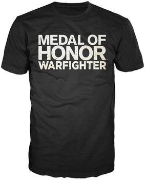 Bioworld MoH: Warfighter T-Shirt -L- Text Logo,schwarz