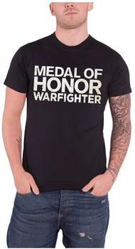 bioworld-moh-warfighter-t-shirt-xl-text-logo-schwarz