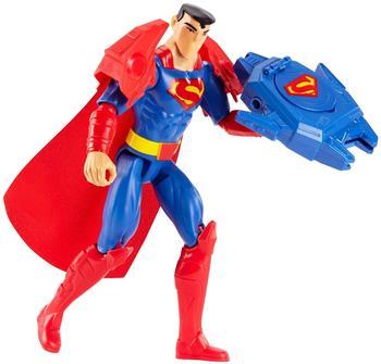 Mattel DC Justice League Deluxe Super-Blaster Superman (30 cm) mit Zubehör (FBR09)