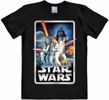 """LOGOSHIRT T-Shirt Krieg der Sterne"""" schwarz S"""