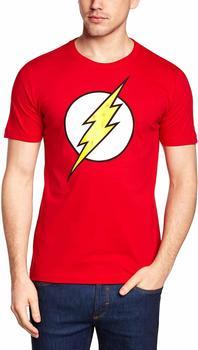 "LOGOSHIRT T-Shirt Der Rote Blitz"" rot, Größe XL"