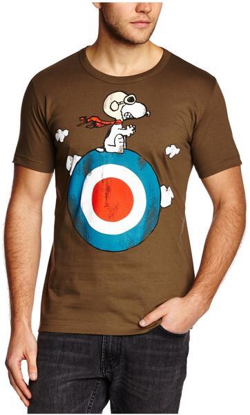 LOGOSHIRT T-Shirt Snoopy - Peanuts grün, L