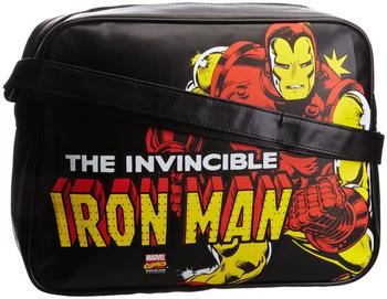 Logoshirt Iron Man – Marvel Comics schwarz