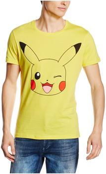 Flashpoint Pokémon T-Shirt - Pikachu in front - S- Gelb