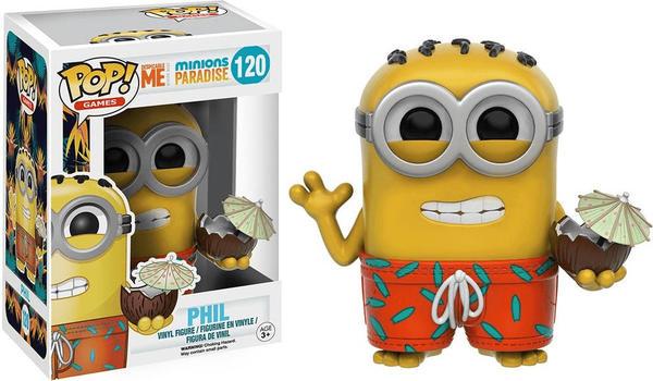 Funko Pop! Ich einfach unverbesserlich 3 - Minions Paradise - Phil