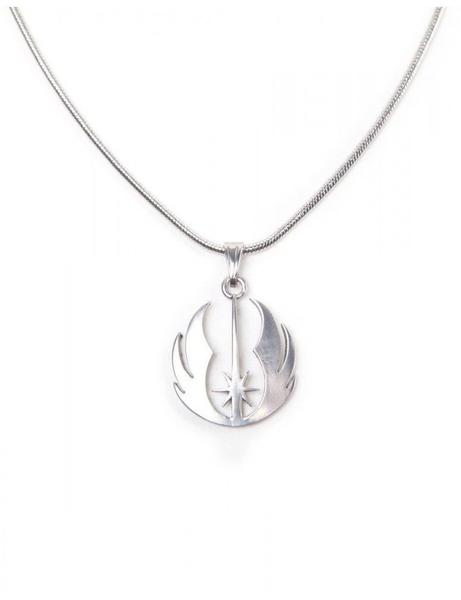 Bioworld Star Wars: Episode VII - The F Star Wars - Jedi Order Silver Necklace