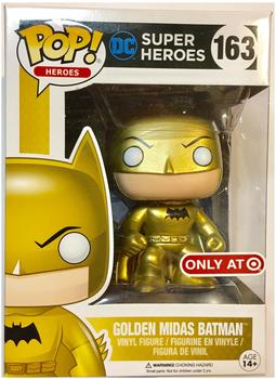 Funko POP Heroes: Golden Midas Batman (Limited)