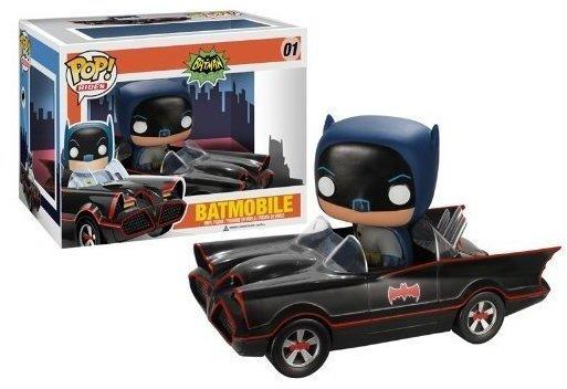 Funko Batman 1966 - Bobble-Head Batman & Batmobile Pop