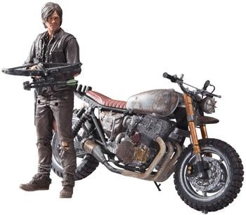 McFarlane Toys The Walking Dead TV - Daryl Dixon with new bike