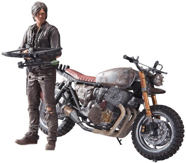 McFarlane Toys The Walking Dead TV - Daryl Dixon with new bike