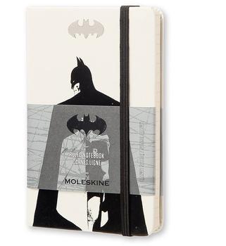 Moleskine Batman P Hardcover Liniert weiß