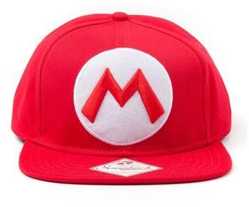 Bioworld Baseballkappe Mario M rot