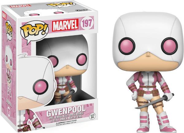 Funko Pop! Marvel: Gwenpool #197