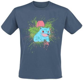 Bioworld Pokemon Ivysaur Splatter T-Shirt XL