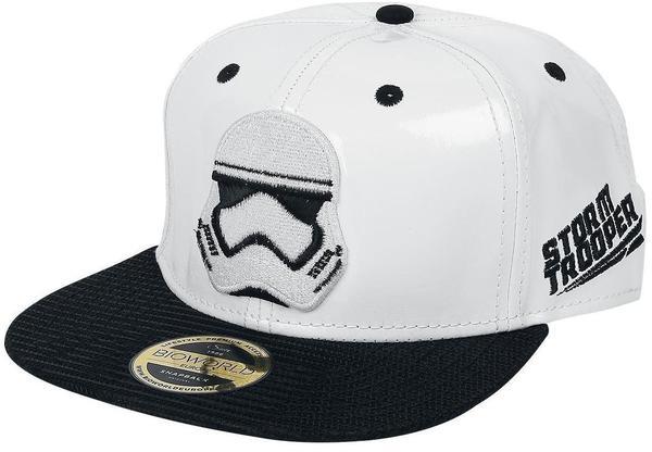 Star Wars - Cap - The Force Awakens - Stormtrooper - für Unisex - weiß/schwarz