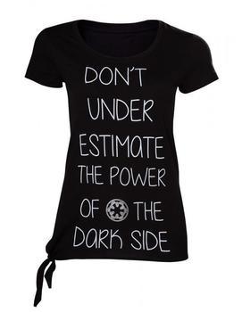Bioworld Merchandising Star Wars Rogue One - Dont Underestimate The Dark Side Female T-Shirt Size M