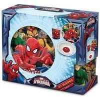 ELI Spiderman Frühstücksset (3-teilig)