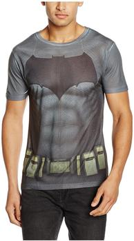 Soulfood Batman Costume (Sublimated T-Shirt,Weiss,L)