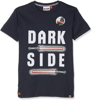 "LEGO Wear STAR WARS T-Shirt Teo dark Side"" kurzarm Shirt blau 110"