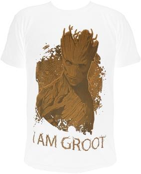 NBG Gotg I Am Groot T-Shirt Whitel