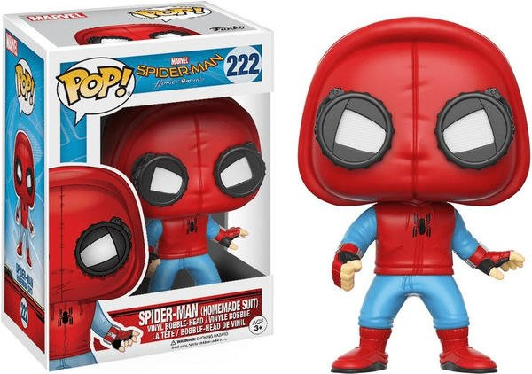 Funko Pop! Marvel: Spider-Man Homecoming - Spider-Man # 222