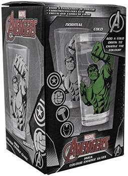 Paladone Farbwechsel Glas mit Hulk