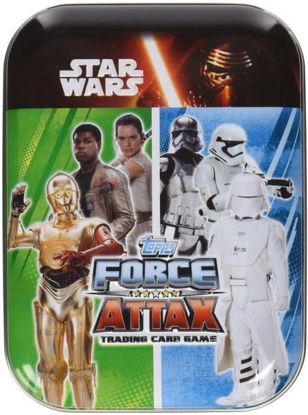 Topps Star Wars Force Attax 7 Mini Tin