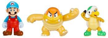 Jakks Pacific Nintendo Figur Micro 3er Pack W2-Ice Mario,Boom Bo