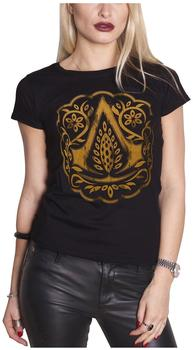 Bioworld Assassins Creed Movie Logo Womens T-Shirt L