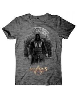 Bioworld Assassins Creed Movie - Aguilar on Grey Grindle T-Shirt XL