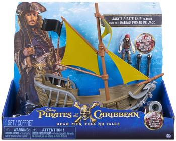 Spin Master Disney Pirates of the Caribbean Jack Sparrow's Pirate Ship