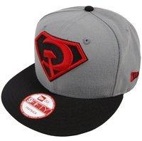 New Era Superman Graphite Red Son Rising Snapback Cap 9fifty Limited Edition