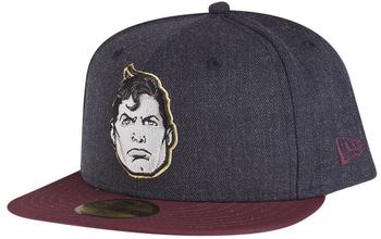 New Era 59FIFTY Character Feature Superman Cap Grau Grau