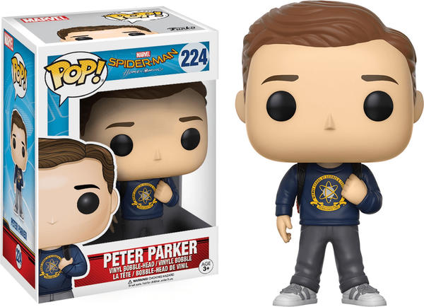 Funko Pop! Marvel: Spider-Man Homecoming - Peter Parker
