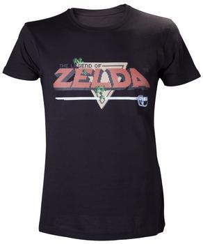 Bioworld Nintendo T-Shirt -S- Schwarz