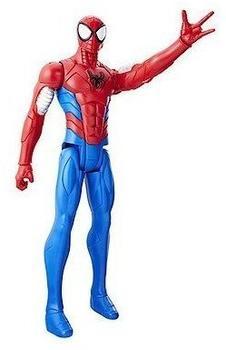 Hasbro Spider-Man Titan Hero Figur Armoured Spider man
