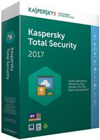 Kaspersky Lab Total Security Multi-Device 2017 3 User PKC DE Win Mac Android
