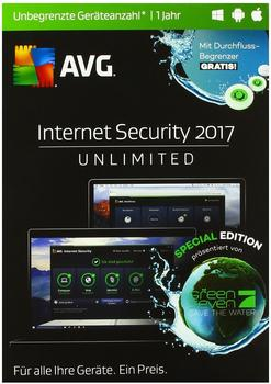 AVG Internet Security 2017 Special Edition DE Win Mac Android