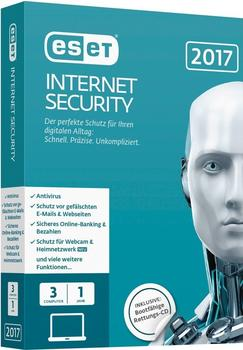 ESET Internet Security 2017 (3 Geräte) (1 Jahr) (Box)