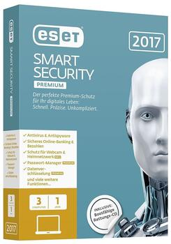 ESET Smart Security Premium 2017 3 User DE Win