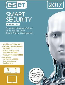 ESET Smart Security 2017 Premium (1 Jahr) (DE) (Win) (FFP)