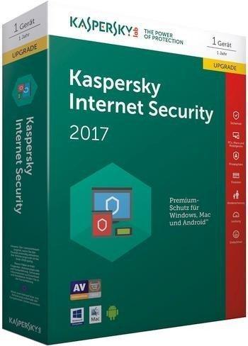 Kaspersky Internet Security 2017 Upgrade (5 Geräte) (1 Jahr) (DE) (ESD)