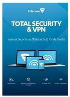 F-Secure Total Security und VPN 5 User DE Win