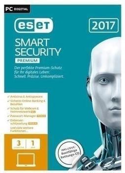 ESET Smart Security 2017 Premium (1 Jahr) (DE) (Win) (ESD)